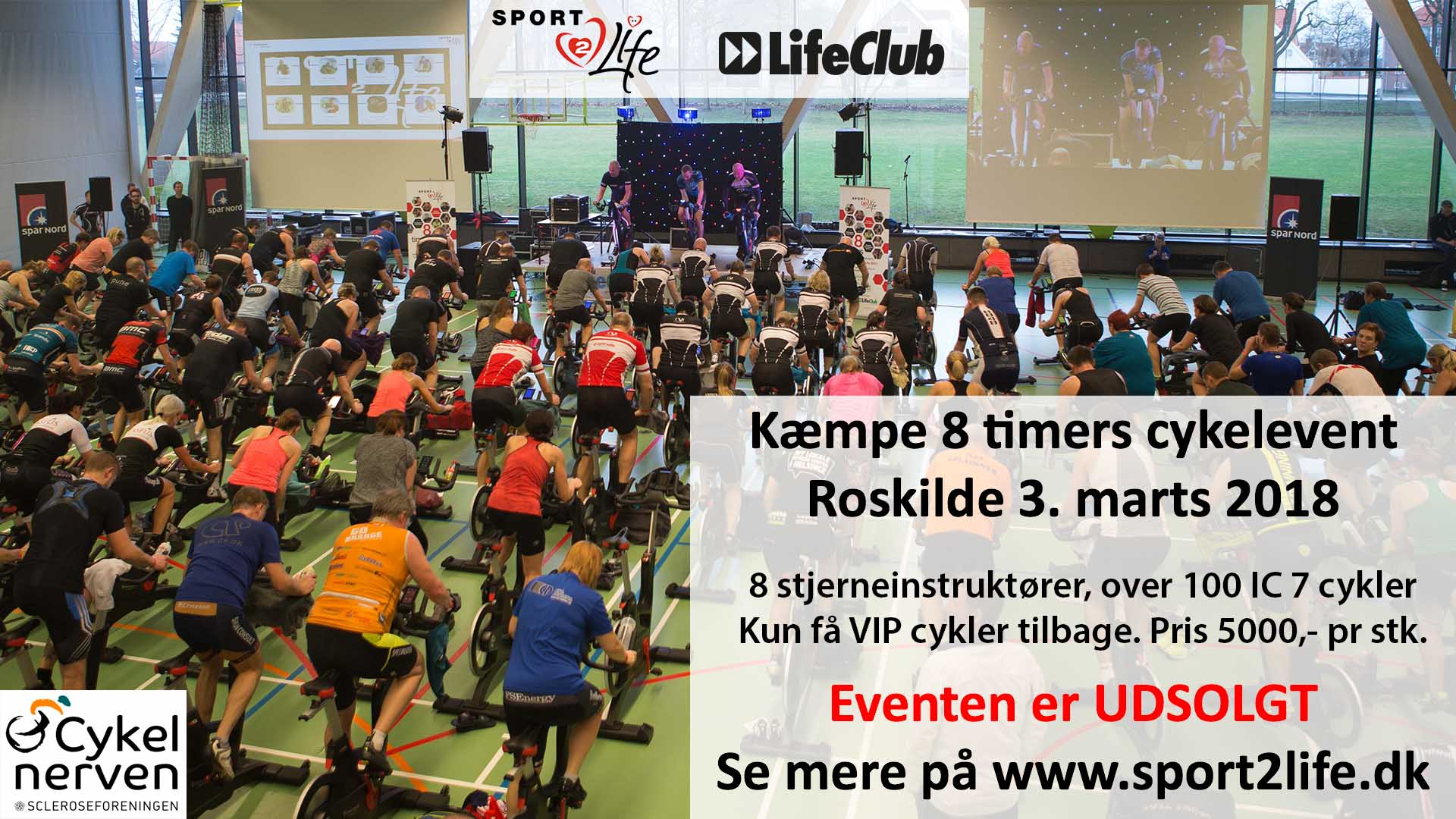 Sport2Life cykelevent